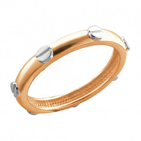 01К0113071Р-  Кольцо из золота 585 пробы