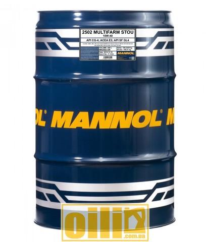 Mannol 2502 Multifarm STOU 10W-40 208л