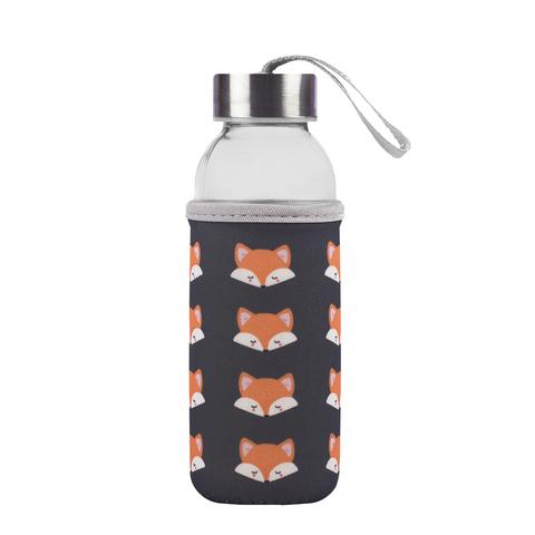 Бутылка для воды (стекло) Fox, 0.3 л