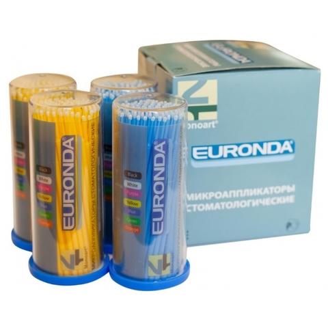 Аппликатор EURONDA №3 100 шт малый 10см жел+гол M6500F
