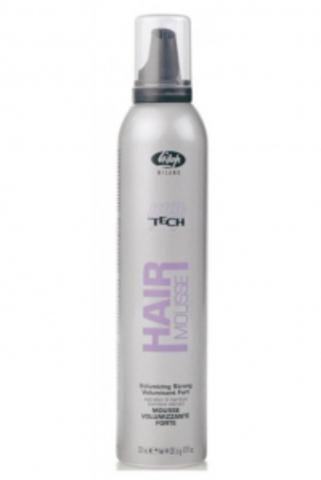 Мусс сильной фиксации для создания объема при укладке волос «High Tech Hair Mousse Volumizing Strong» (300 мл)