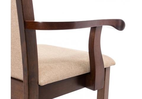 Стул деревянный кухонный, обеденный, для гостиной Кресло Mango бежевое 56*56*95