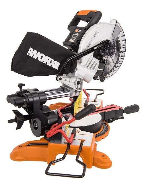 Аккумуляторная торцовочная пила WORX WX845.9 20В 216 мм, без АКБ и ЗУ