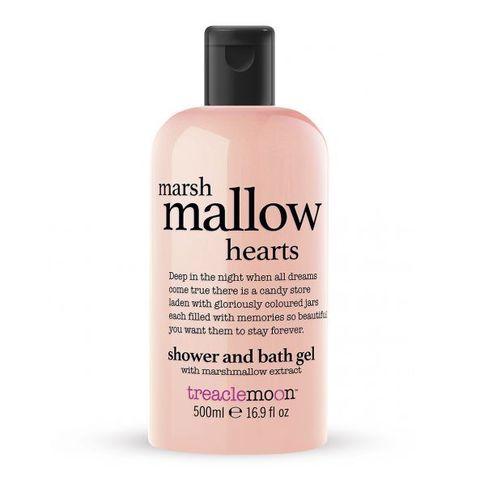 TREACLEMOON | Гель для душа Маршмеллоу / Marshmallow Hearts bath and shower gel, (500 мл)