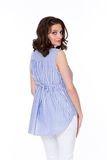 Блузка для беременных 08568 синий