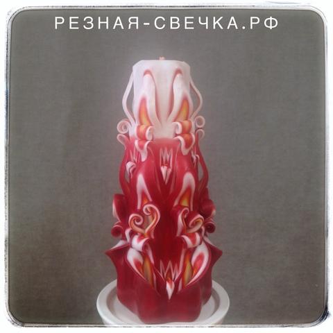 Резная свеча Пламя Надежды 17 см