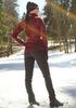 Женский утеплённый лыжный костюм Nordski Elite Wine/Black женский