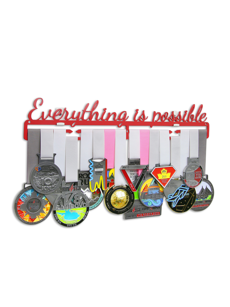Медальница Everything is possible 2.0