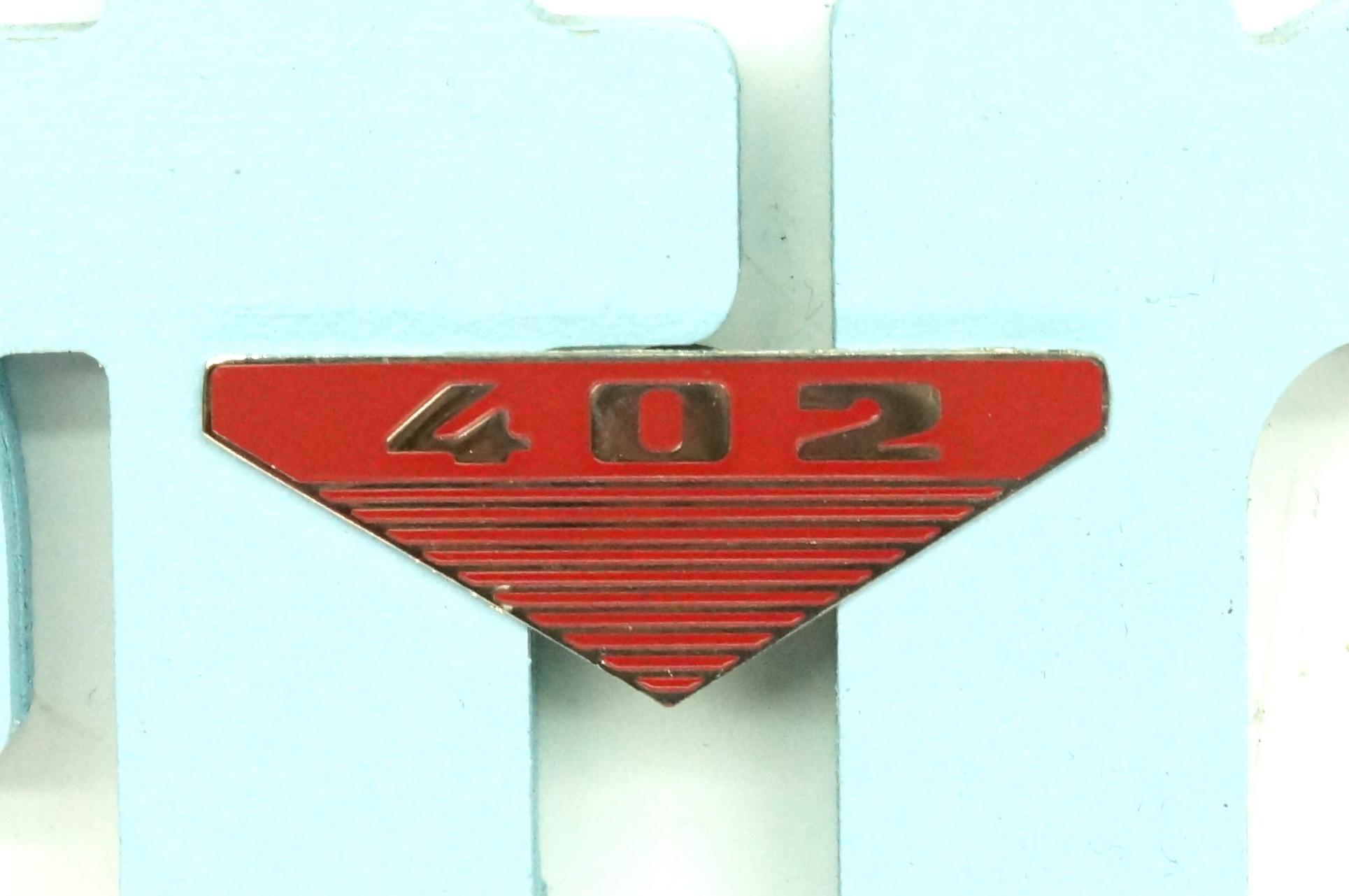 Значок эмблема на крыло Москвич 402