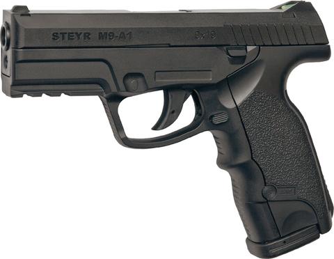 Пистолет пневматический ASG Steyr M9-A1 пластик/черный (артикул 16088)