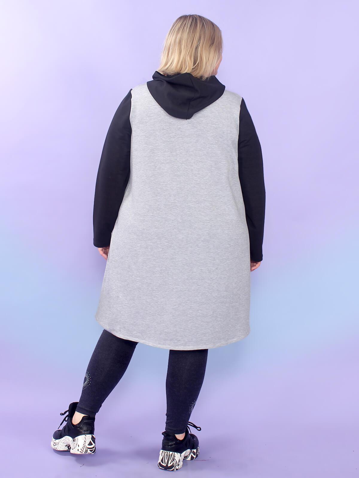Платье-туника Панда