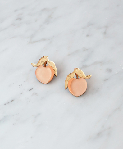 Серьги Mini Peach Studs