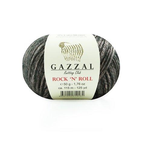 Пряжа Gazzal Rock n Roll 13092 шоколадный маффин
