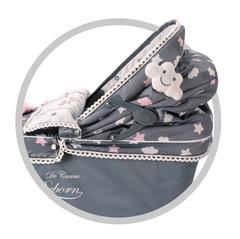 DeCuevas Коляска с рюкзаком и зонтиком серии Скай, 90 см (82024)