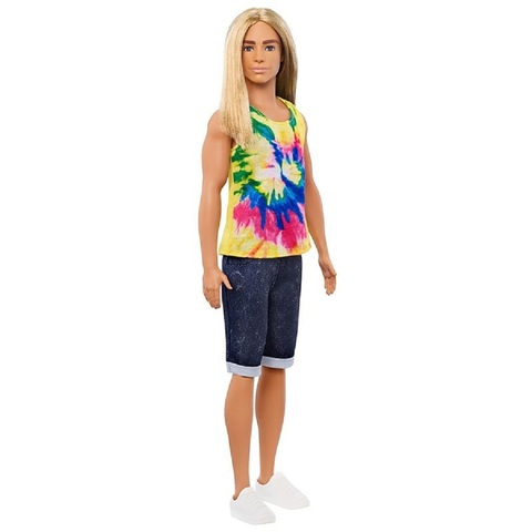 Барби Кен Fashionistas 138 с Длинными Светлыми Волосами