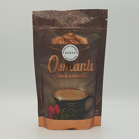 Турецкий кофе с молоком Дибек ISTANBUL KAHVE, 200 гр