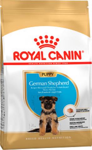 Royal Canin German Shepherd Puppy сухой корм для щенков немецкой овчарки до 15 месяцев