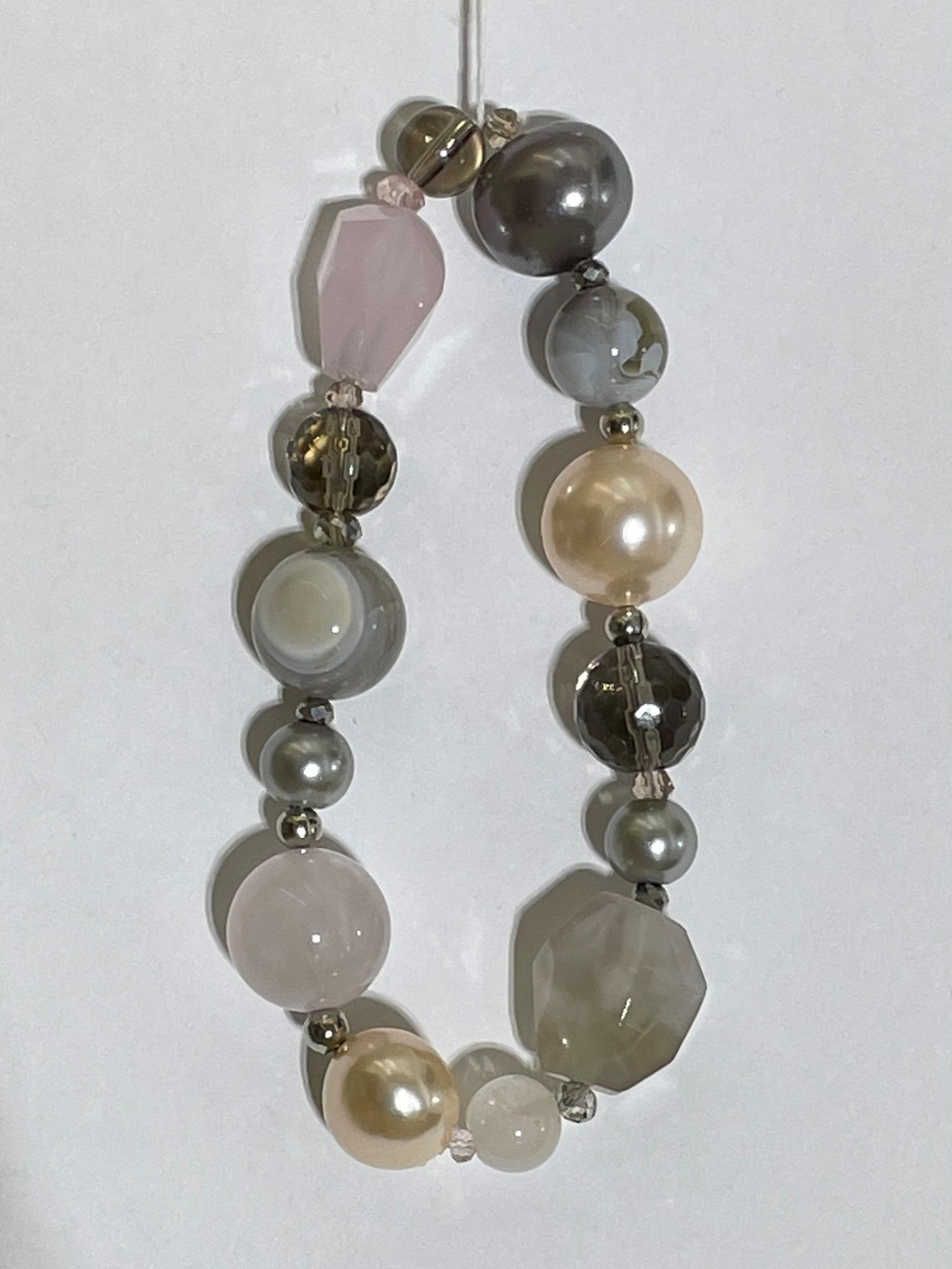 8006-агат (браслет из натуральных камней)