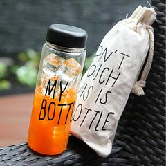 Цветная пластиковая бутылка My Bottle, 500 мл. Фото1