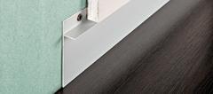 Алюминиевый плинтус Progress Profiles Proskirting INS 60*1.5 мм, Серебро