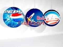 Подвесные брендированные шары надувные
