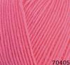 Пряжа Himalaya Everyday Bebe Lux 70405 (розовый коралл)