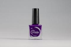 Лак для стемпинга Swanky Stamping №010, фиолето...