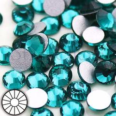 Купите стразы холодной фиксации клеевые Blue Zircon Блю Циркон голубой на StrazOK.ru