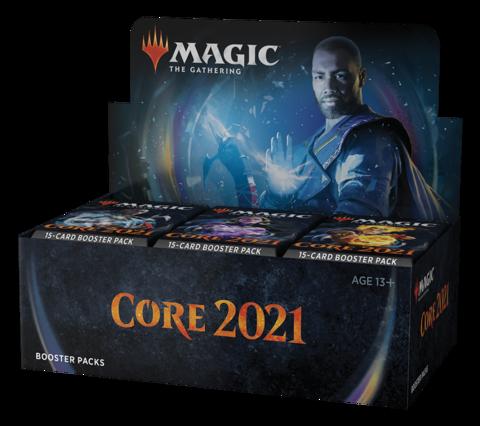 Core Set 2021 - дисплей бустеров (английский)