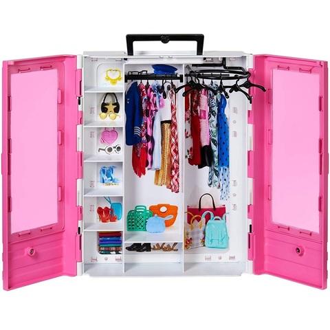 Барби Fashionistas Идеальный Шкаф с Аксессуарами