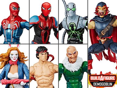 Марвел Легенд фигурки Человек паук серия 11