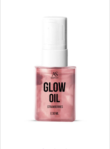 Фото масло GLOW OIL аромат земляника