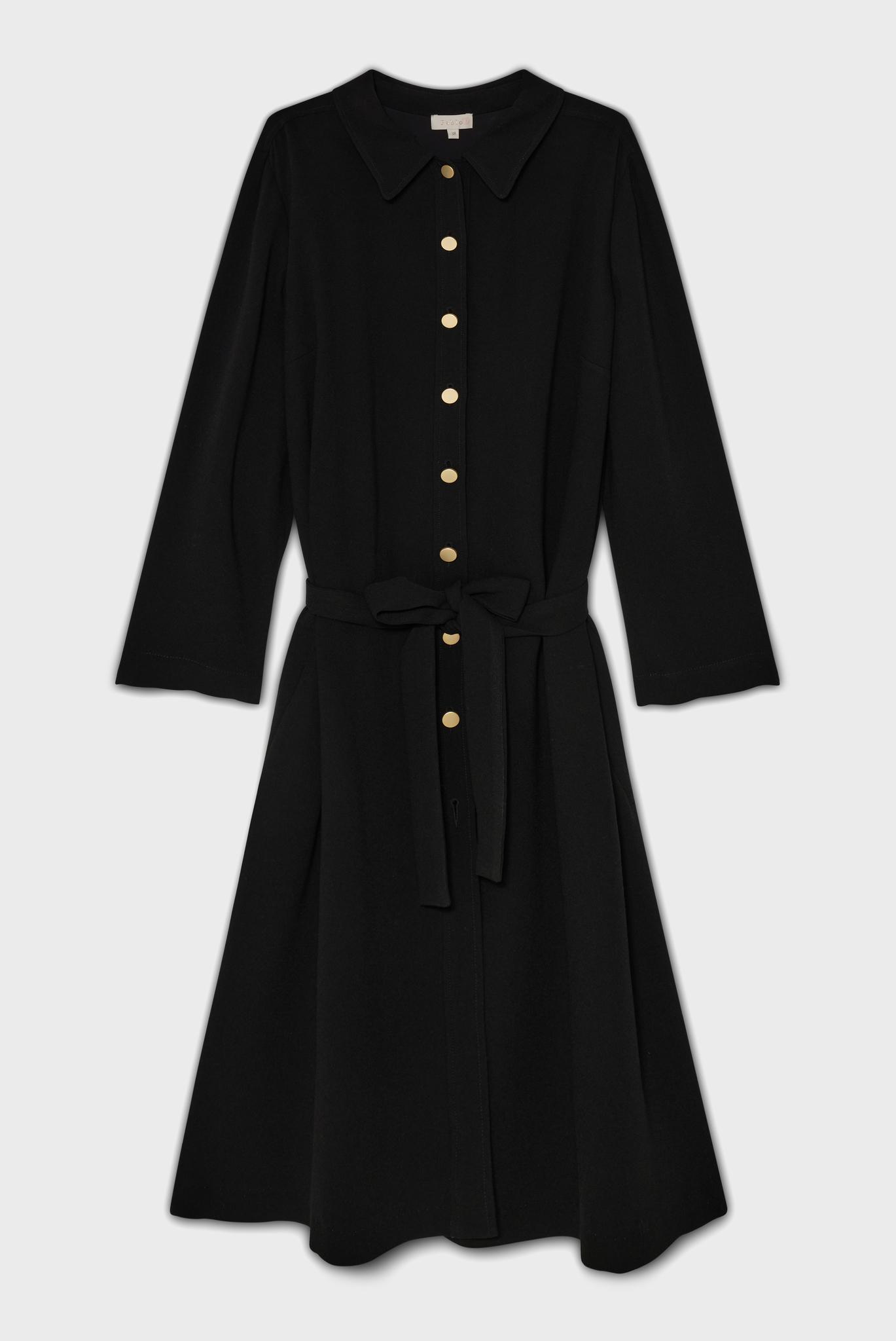 RUBEN - Платье-рубашка с поясом