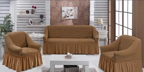Набор чехлов на трехместный диван и два кресла Barone