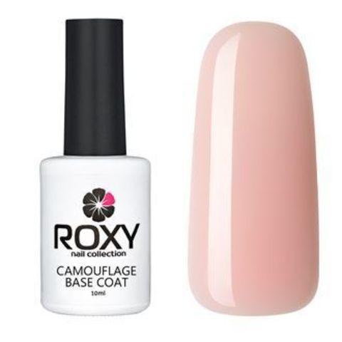 Камуфлирующее базовое покрытие ROXY nail collection К15 rubber - розовая (10 ml)