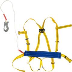 Привязь удерживающая УСП 2ВЖ (ПП 2ВЖ) наплечные/набедренные лямки строп канат
