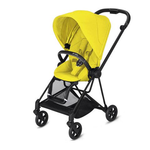 Прогулочная коляска  Cybex Mios Mustard Yellow matt black