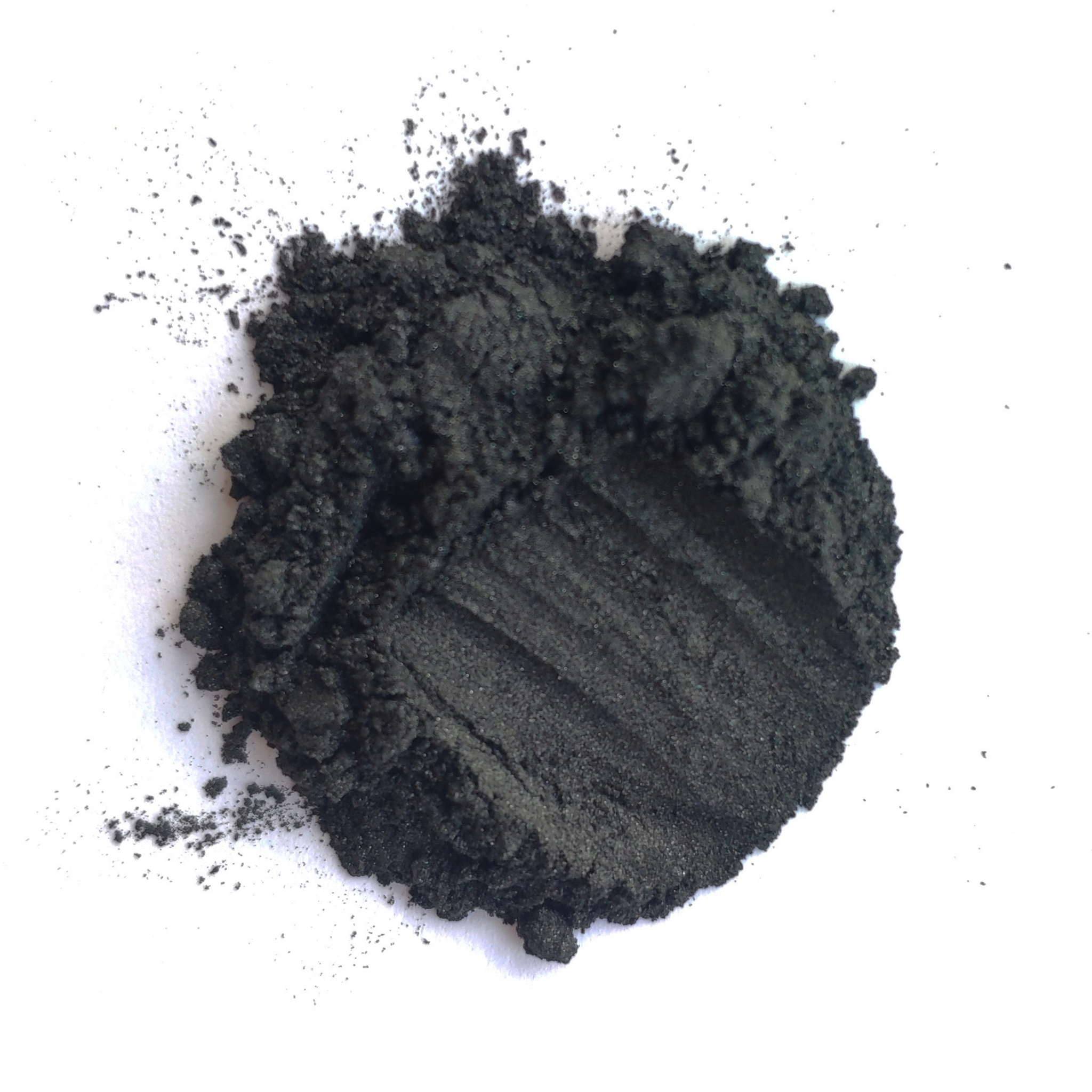 Пигмент для слайма перламутровый черный 20 мл