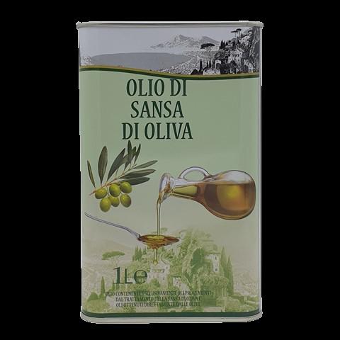 Масло оливковое POMACE рафинированное VESUVIO, 1 л