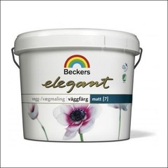Краска для стен BECKERS ELEGANT VAGGFARG MATT База С (Прозрачный)