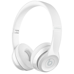 Наушники Bluetooth Beats Beats Solo3 Wireless On-Ear Gloss White/Белые MNEP2ZE/A