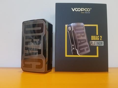 Батарейный мод Drag 2 Platinum by VooPoo