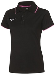 Поло Mizuno Polo Black женское