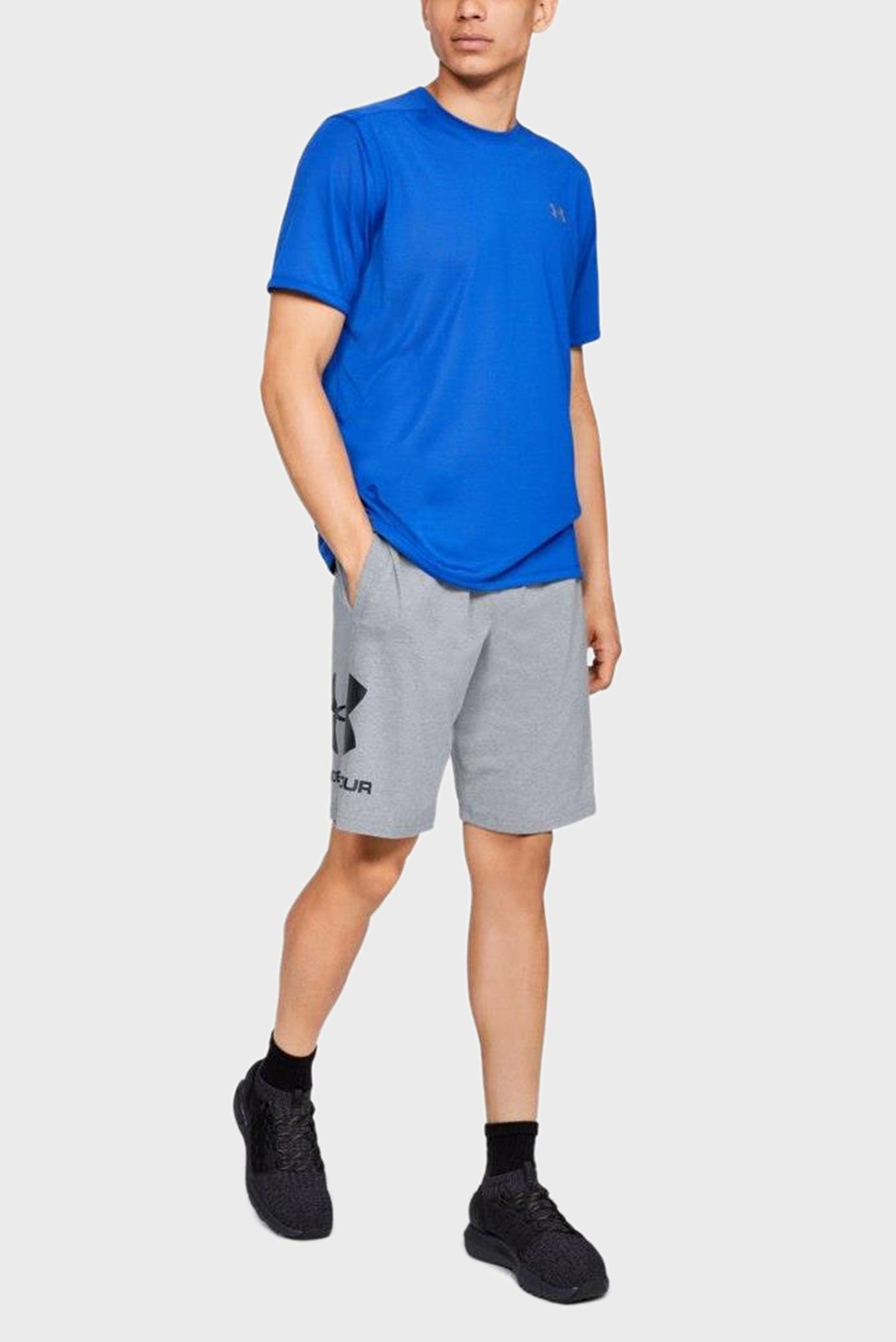 Мужские серые спортивные шорты SPORTSTYLE Under Armour