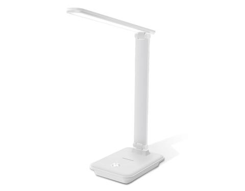 Светодиодная настольная лампа с диммером DE502 WH белый LED 3000-6400K 9W