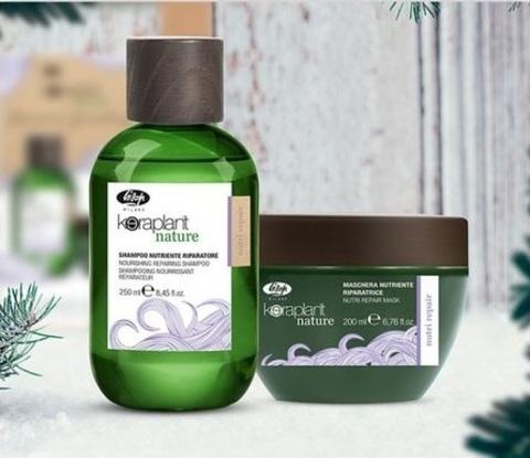 Набор KERAPLANT Nature для глубокого питания и восстановления волос