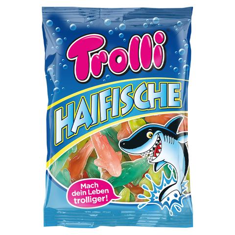 Жевательный мармелад Trolli Haifische - акулы с фруктовым вкусом, 200 г