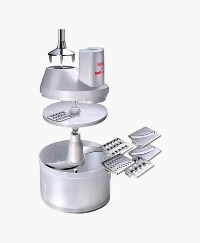 Электрическая овощерезка Bamix SliceSy Light Grey