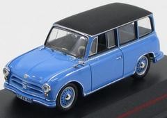 AWZ P70 Kombi blue-black 1957 IST172 IST Models 1:43
