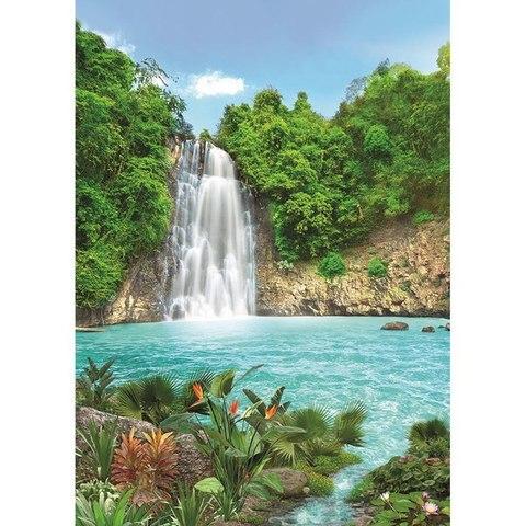 Тропический водопад 194x272 см, люкс
